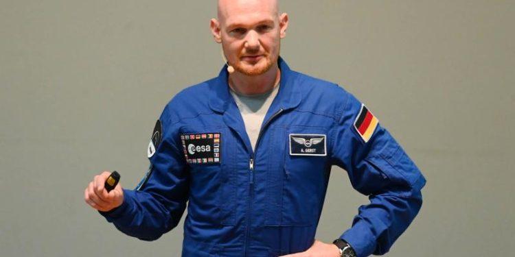Der deutsche Astronaut Alexander Gerst.