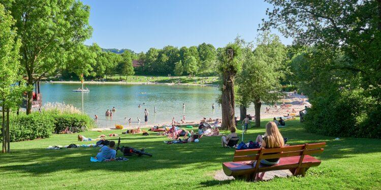 Ein Foto des Breitenauer See.