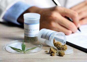 Medizinisches Marihuana kann häufig eine natürliche Alternative zu herkömmlichen Medikamenten darstellen. (Bild: Africa Studio/Stock.Adobe.com)