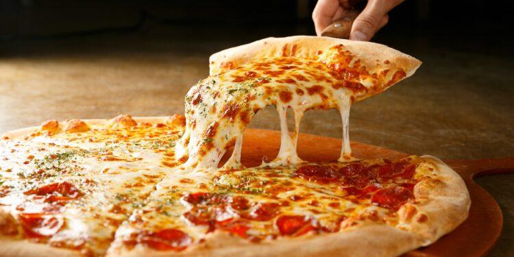 Bild einer Pizza.