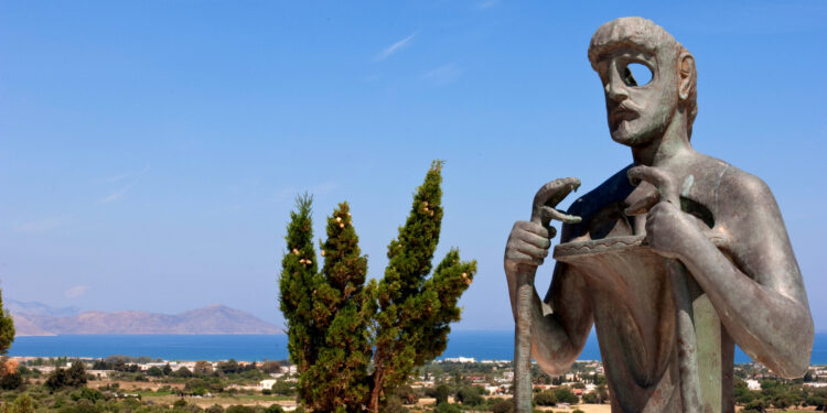 Statue des Asklepios