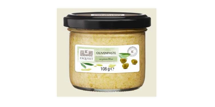 Großaufnahme einer Olivenpaste