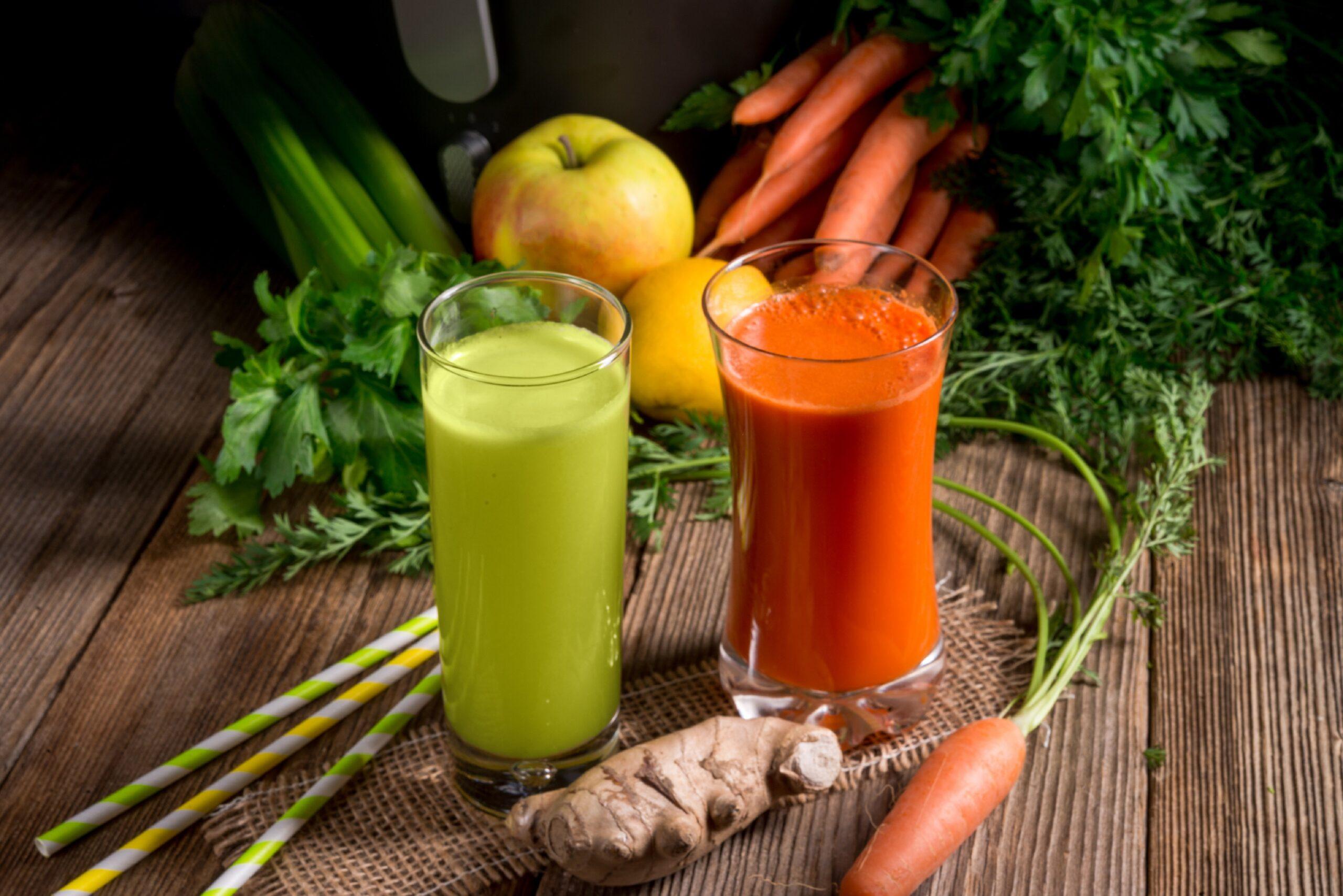 Was kann ich beim Entsaften essen? Gesundheits