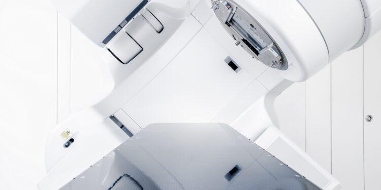 Gerät zur Bestrahlung von Tumoren