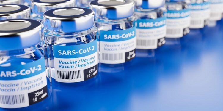 Bild eines möglichen Impfstoffs für COVID-19.