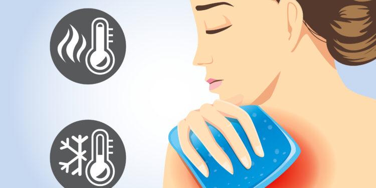 Grafische Darstellung einer Frau, die einen Umschlag auf ihre Schulter legt.