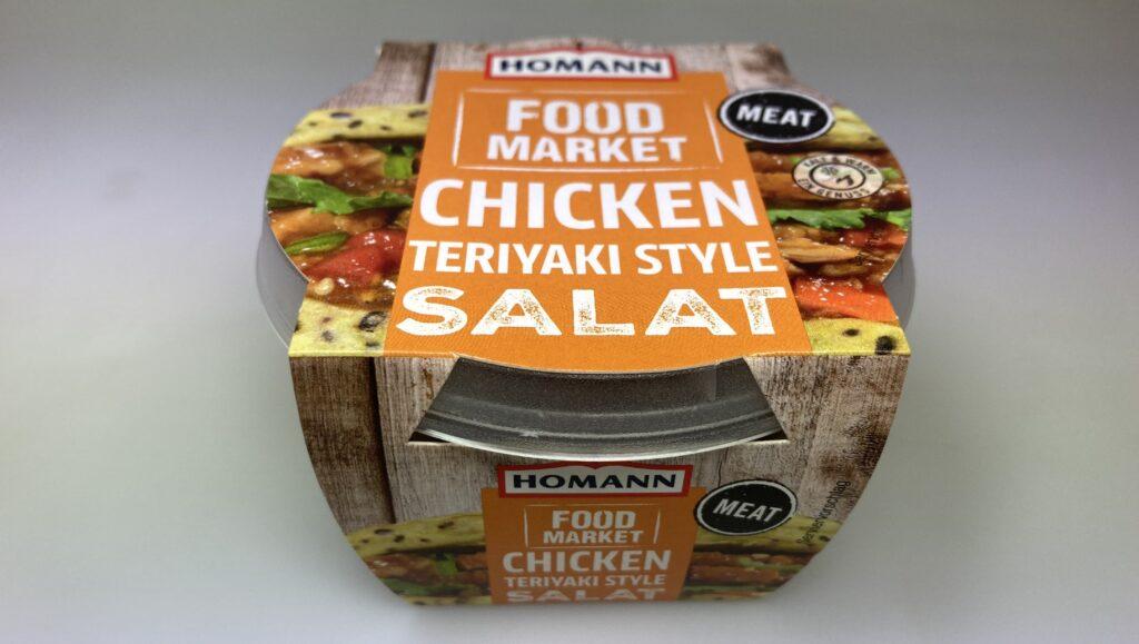 """Ein Produktbild des Artikels """"Chicken Teriyaki Style Salat"""" des Herstellers """" HOMANN Feinkost GmbH"""""""