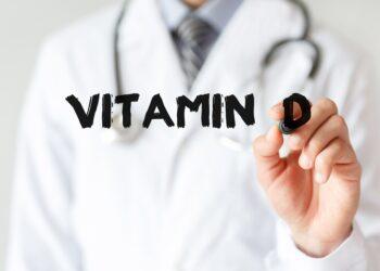 Forscher schreibt Vitamin-D.