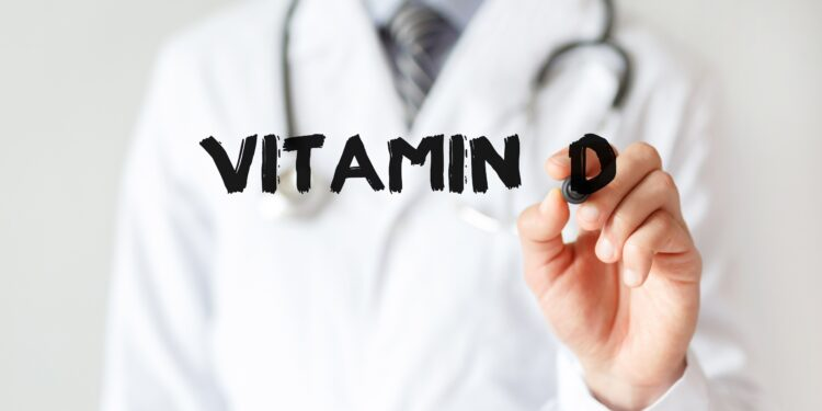 Researcher writes vitamin D.