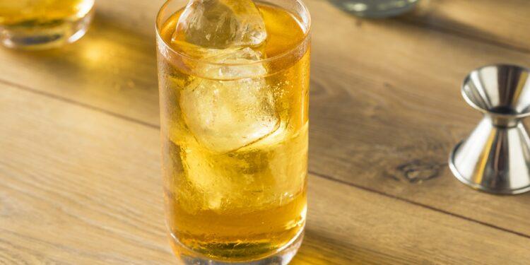 Vodka mit Energydrink gemischt.