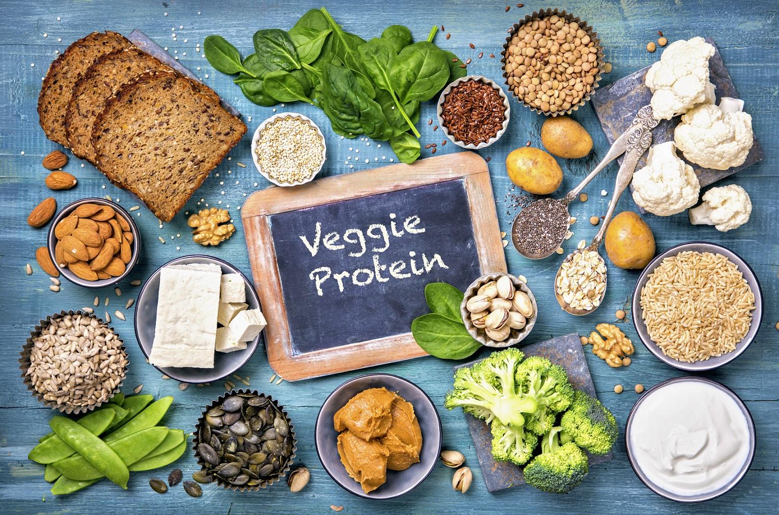 Pflanzliche Nahrungsmittel