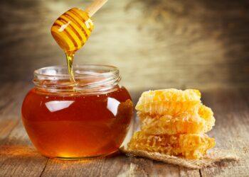 Honig im Glas.