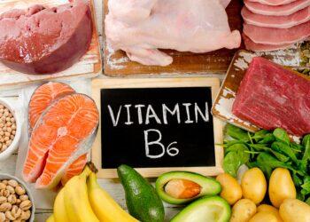 Lebensmittel mit Vitamin B6.