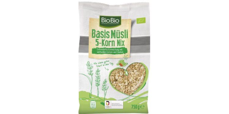 Produktabbildung: BioBio Basis Müsli 5-Korn Mix.