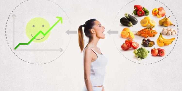 Schaubild über die Auswirkung von Ernährungsgewohnheiten.