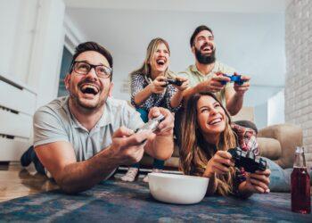 Das Spielen von Videospielen macht nicht nur Spaß, es scheint auch vorteilhaft für die menschliche Psyche zu sein. (Bild: Mediteraneo/stock.adobe.com)