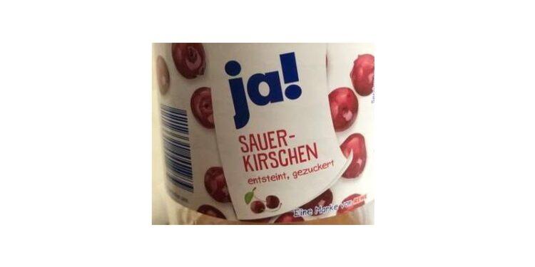 "Produktabbildung ""ja! Sauerkirschen"""